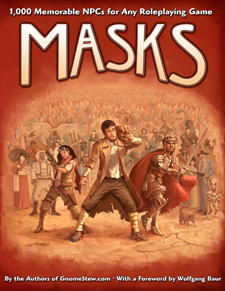 Masks is now in stock in softcover