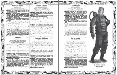 Masks preview 2: Sci-fi NPCs