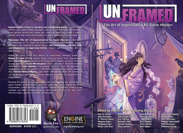 Preview: The author list and full cover for Unframed